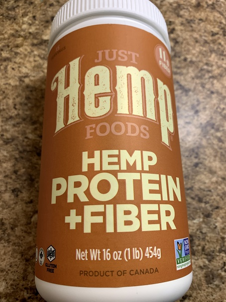 Great Source of Vegetable Protein and Fiber and Omega 3-6