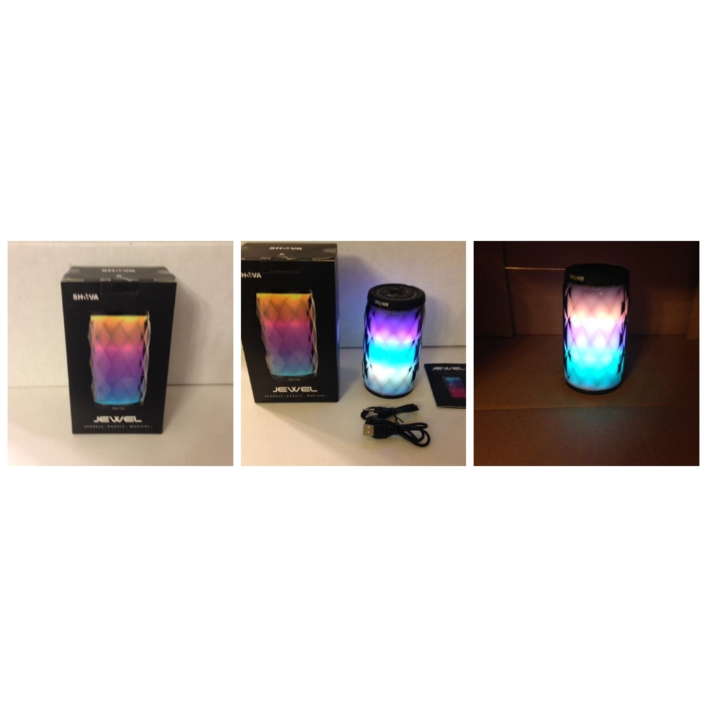 SHAVA JEWEL WIRELESS BLUETOOTH LED SPEAKER