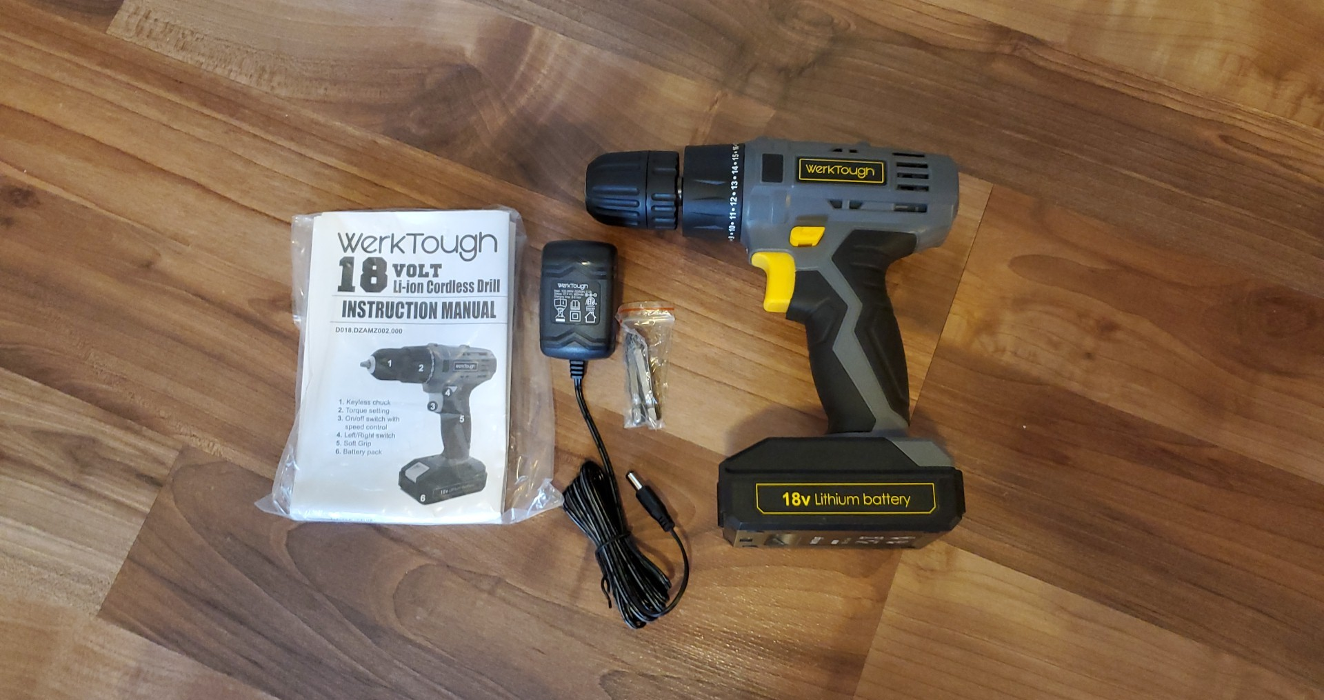 Awesome 18 volt drill