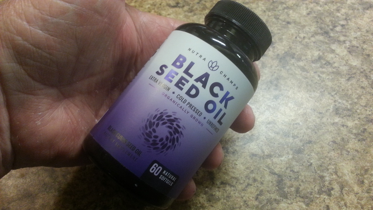 Quality black seed oil supplement