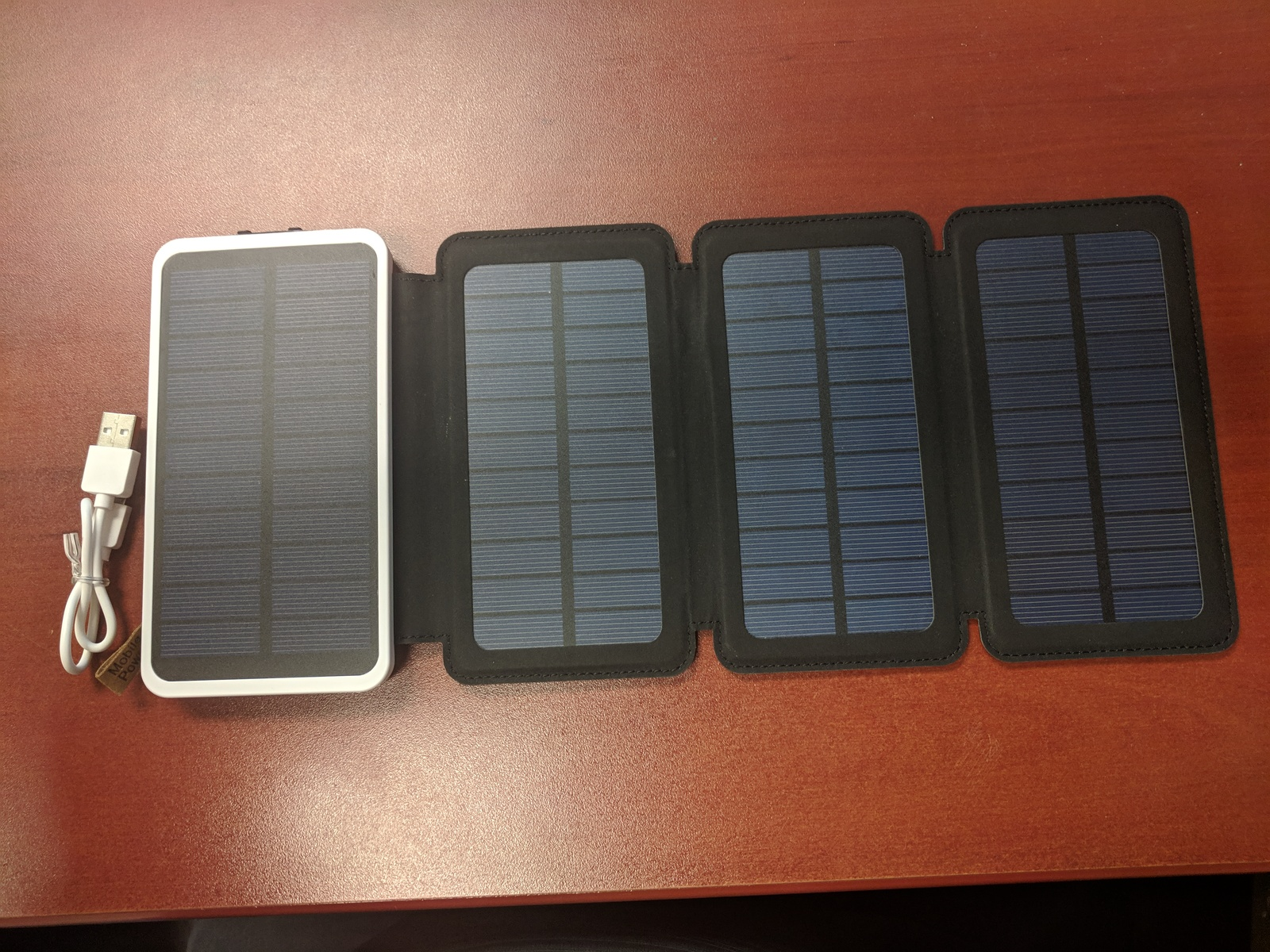 Incredibly awesome solar charger battery!