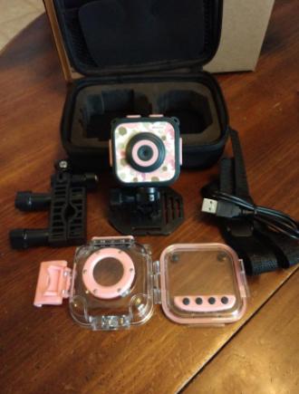 Kids Camera Waterproof Action Video