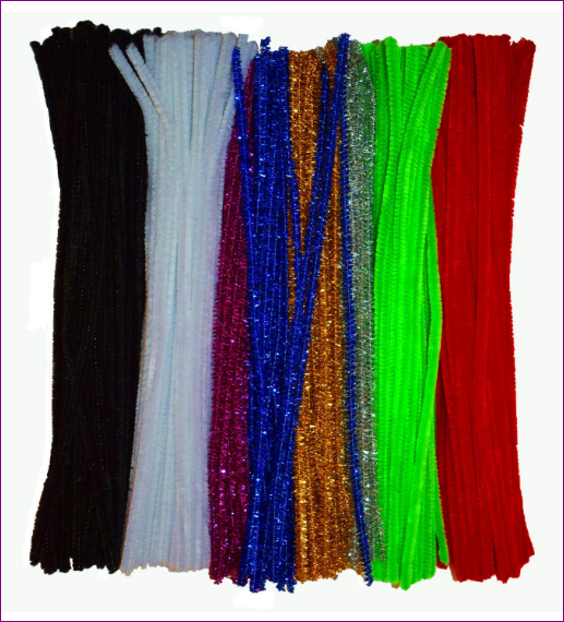 This review is actually for Craft Pipe Cleaners Chenille Stems Colors 300 Pieces for DIY Art Creative (6mm x 12 Inch) by GOTOONE
