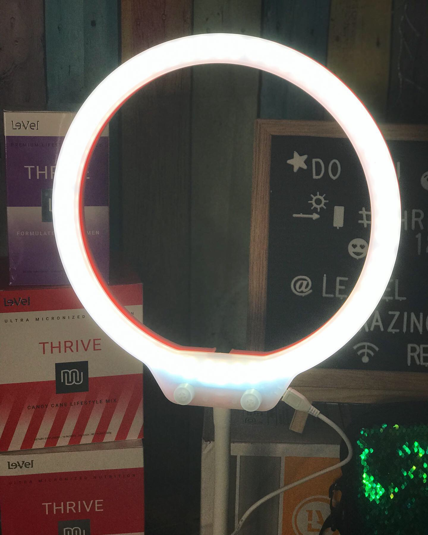 "Amazing Mini 10"" Table Ring light"