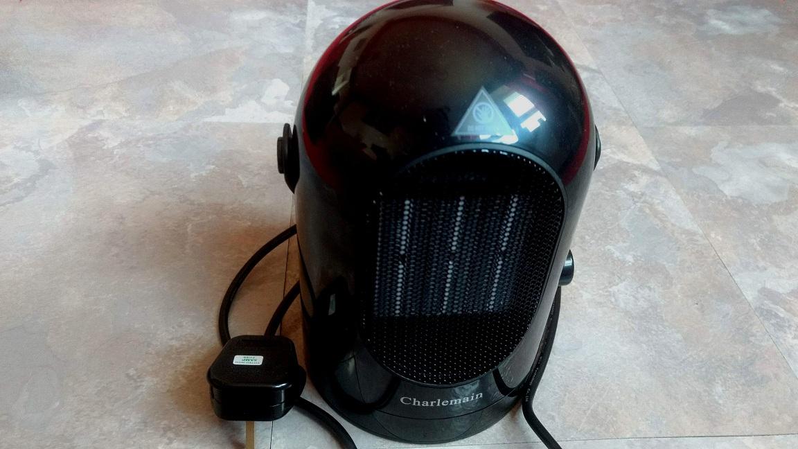 AUSEIN 600W Portable Ceramic Fan Heater