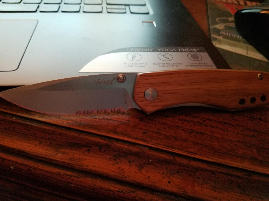 Great knife for this country girl