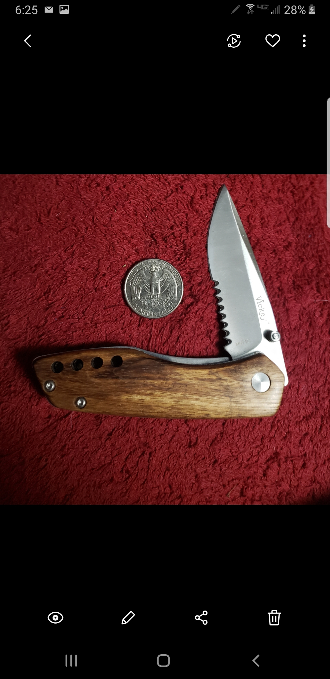 Just the right size with quality blade