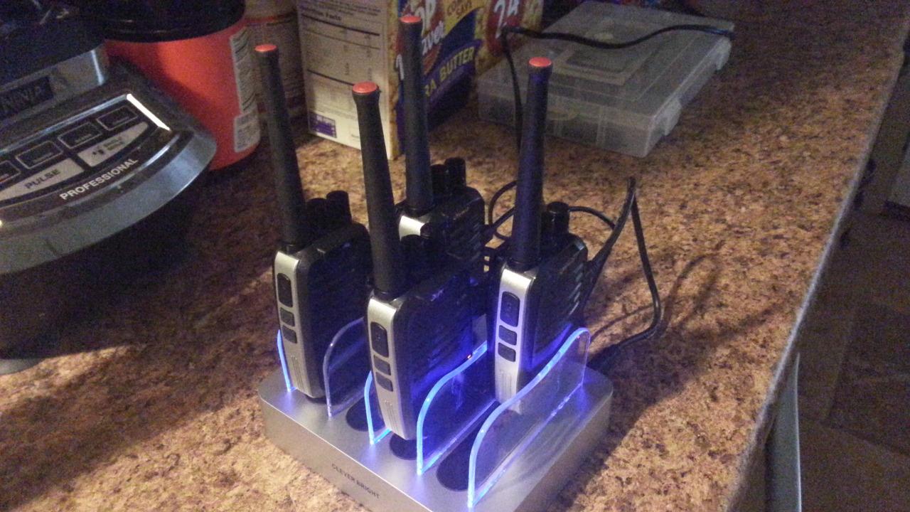 Fine multi-charging base