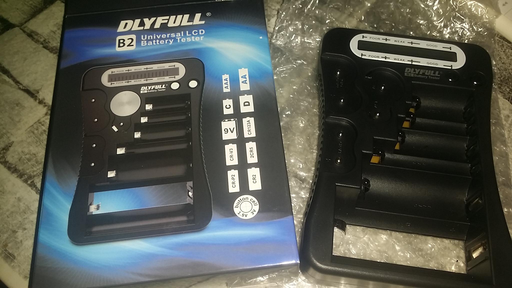 Geeignet für viele Batterietypen, simple Konstruktion