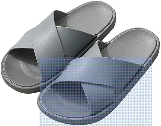 Perfect shower shoe for camping or gym