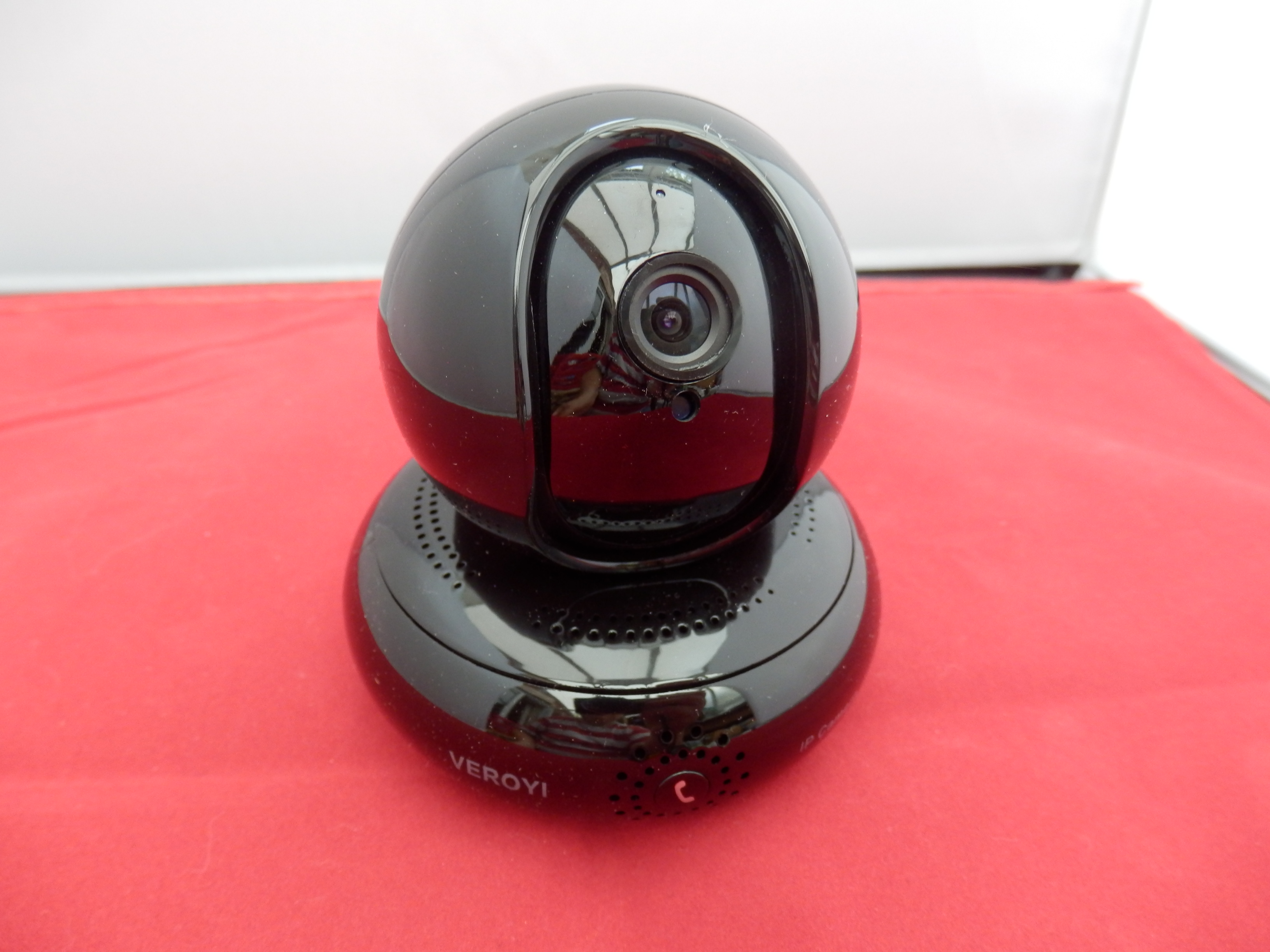 Veroyi Full HD 1080P IP Wireless Home Security Camera, 120° Wide Angle, Two Way Audio Reverse Call and Night Vision