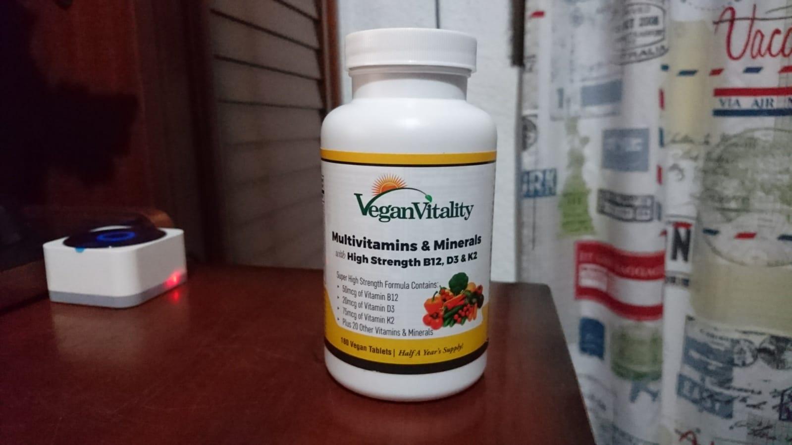 Complemento de vitaminas muy completo y económico
