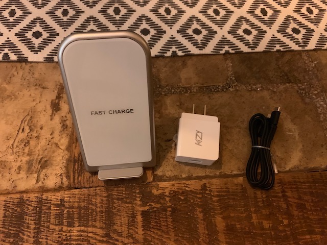 Qi Charging Stand with AC Adapter