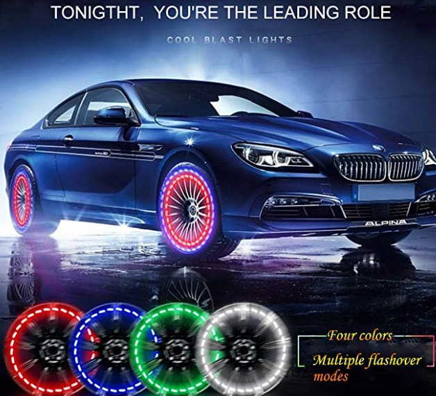 Car Tire Wheel Lights