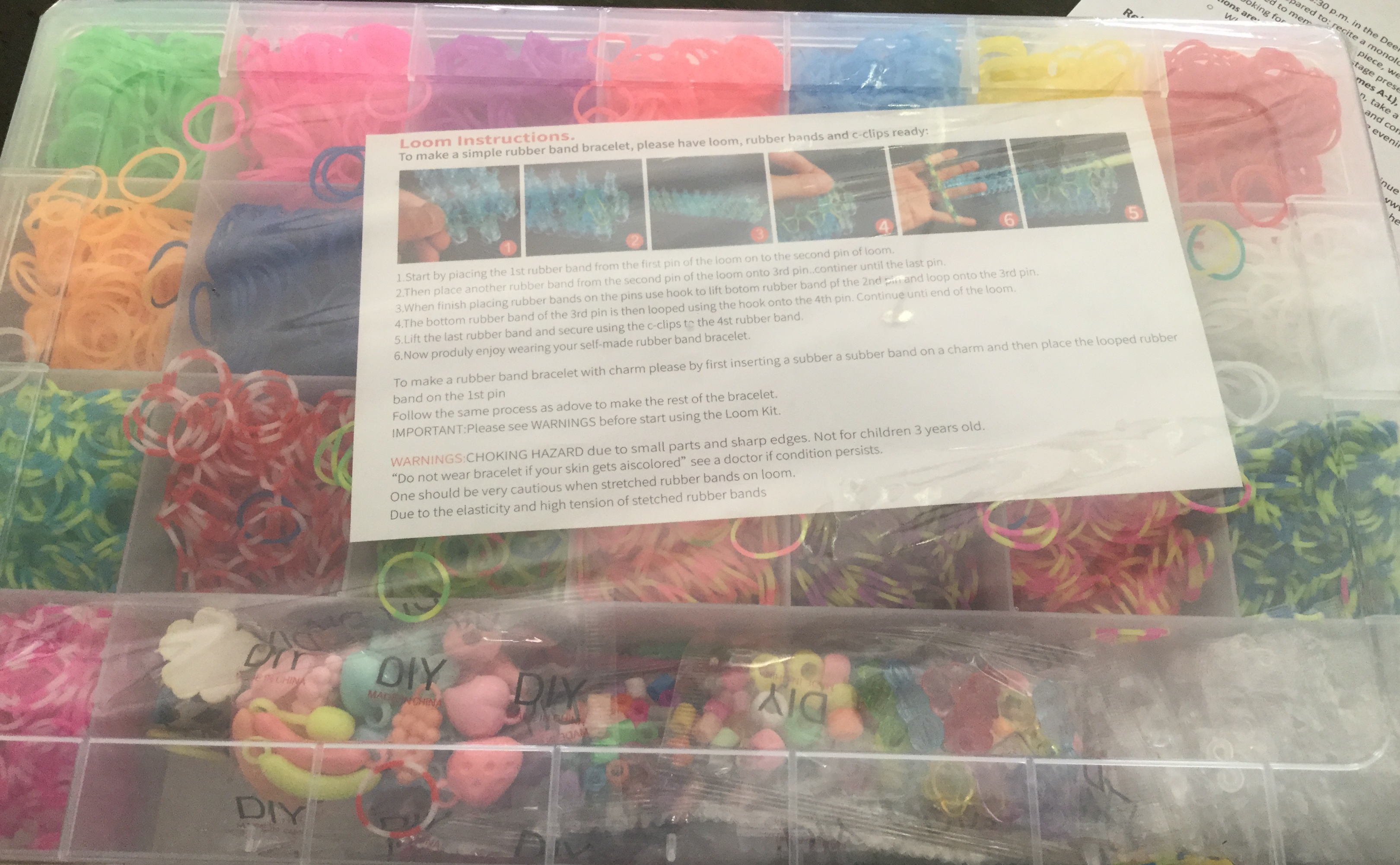 Great set of loom bands