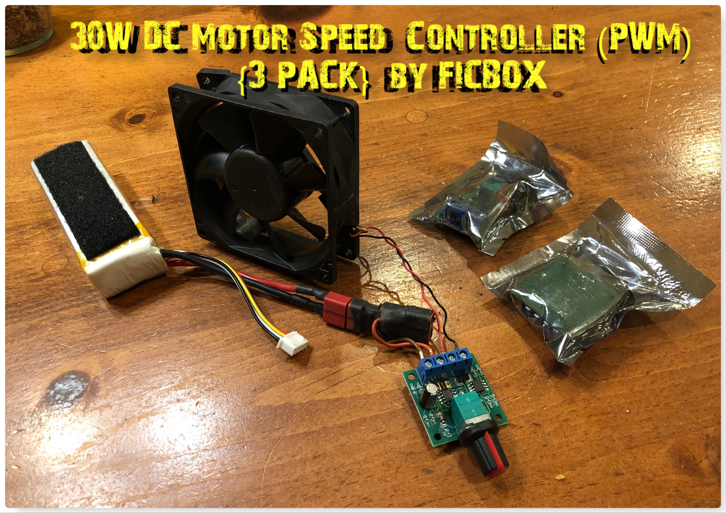 Great variable speed controller for electronic projects!