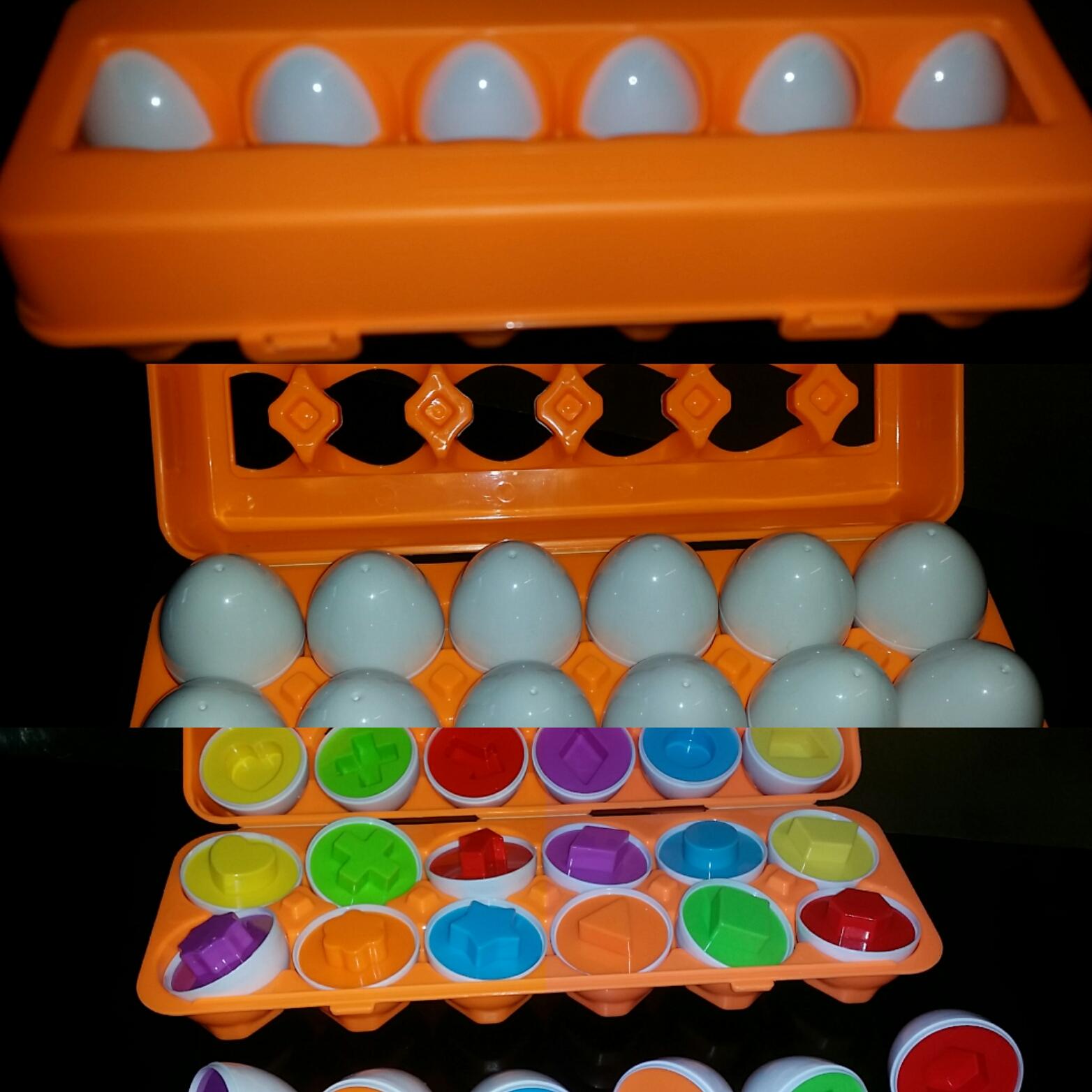 schöne bunter Eier
