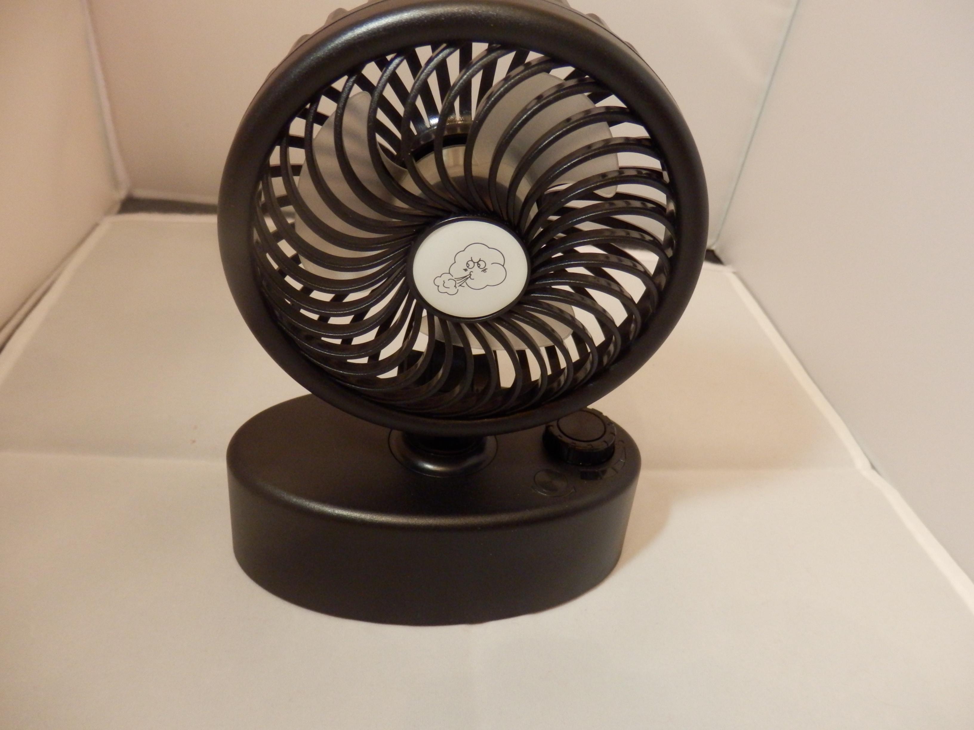 Ausein Rechargeable Portable Oscillating Desk Fan