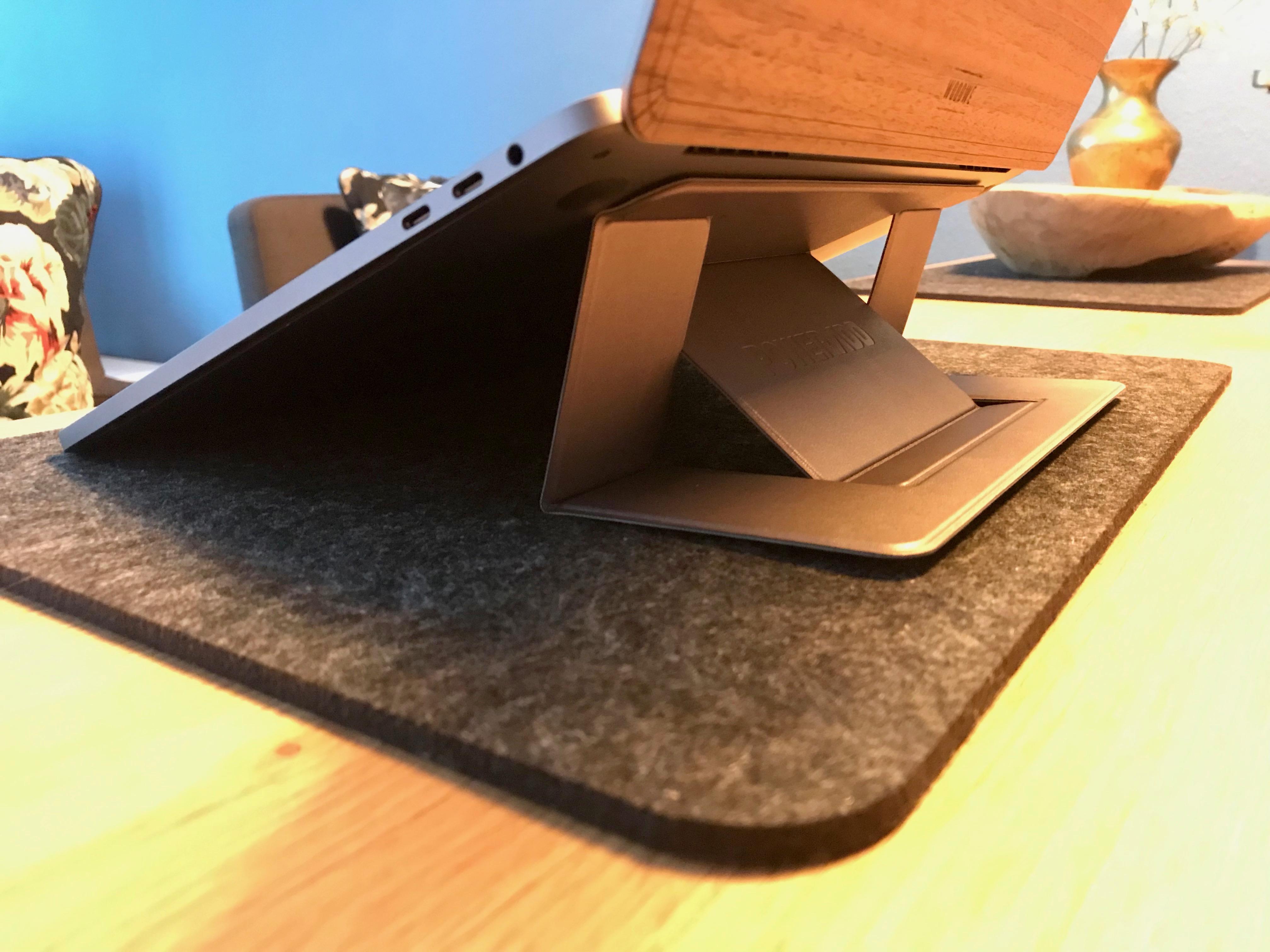 Unauffälliger, stabiler Laptopständer