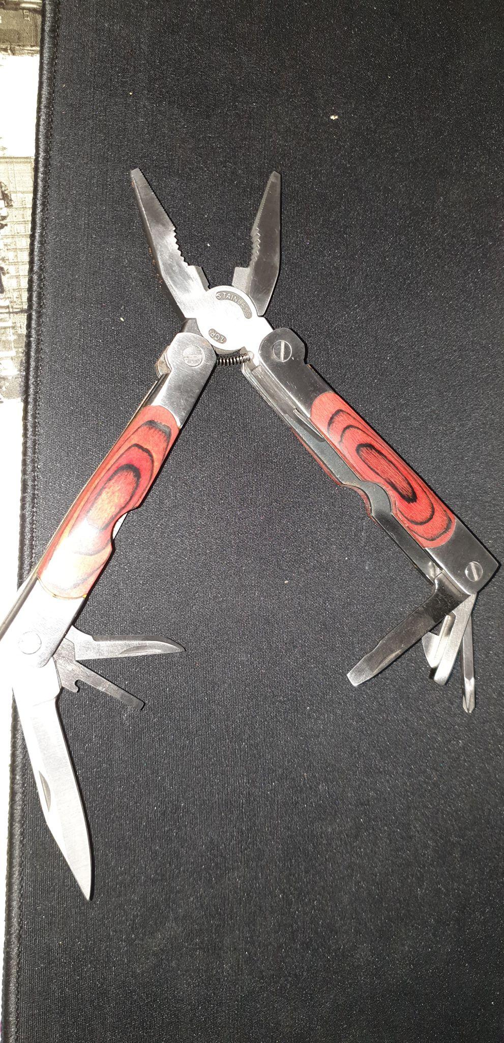 couteau de poche multi fonction