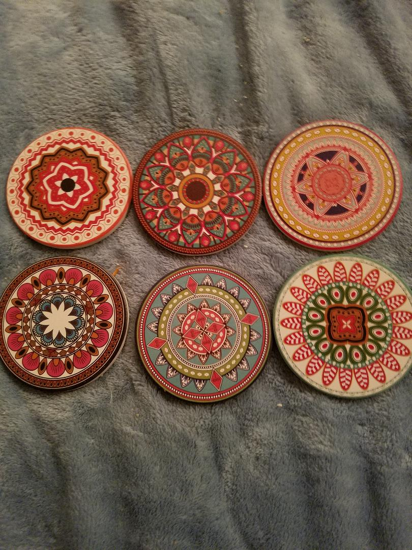 Prettiest Coasters I have ever Seen