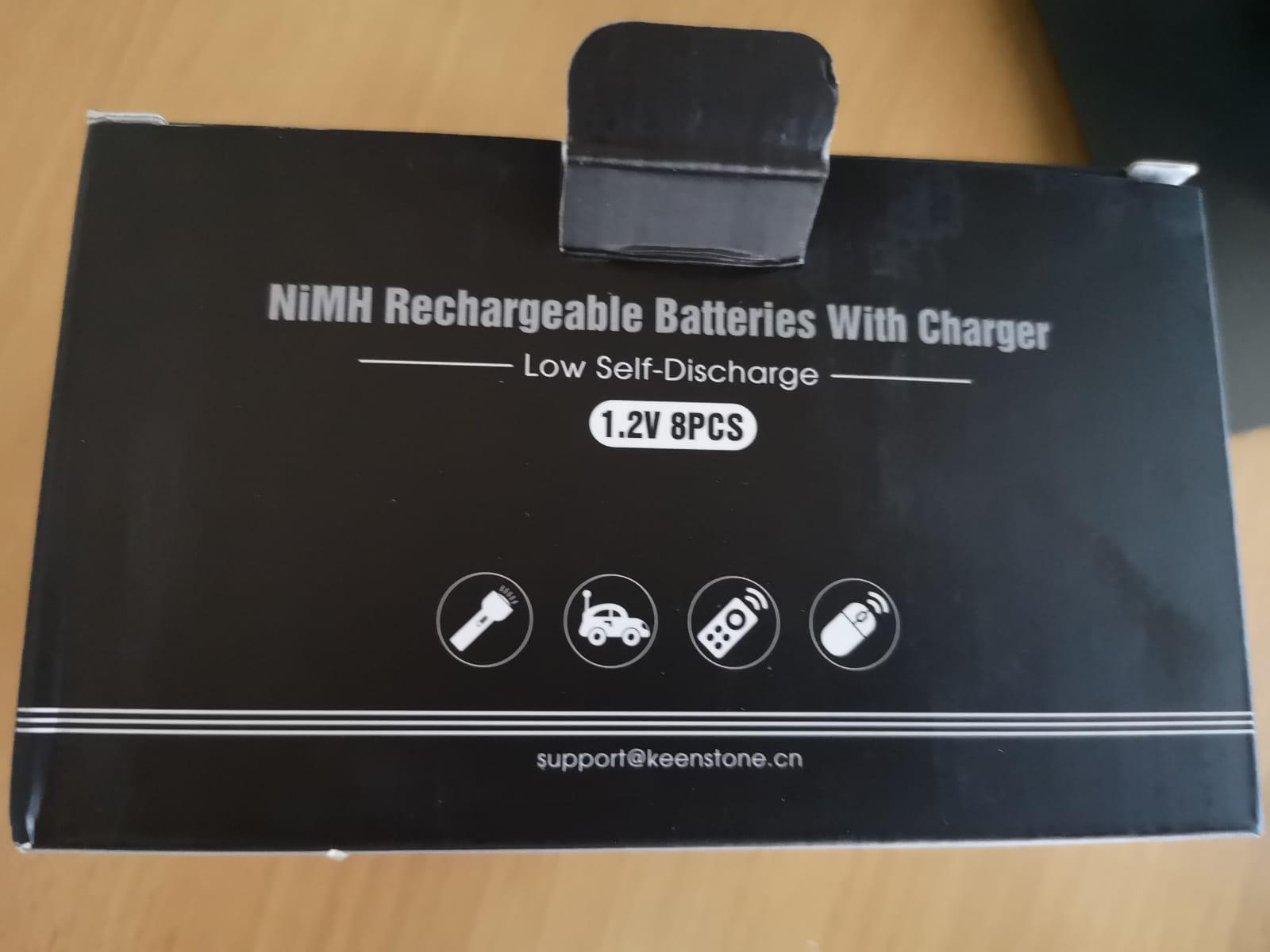 piles rechargeables au top!