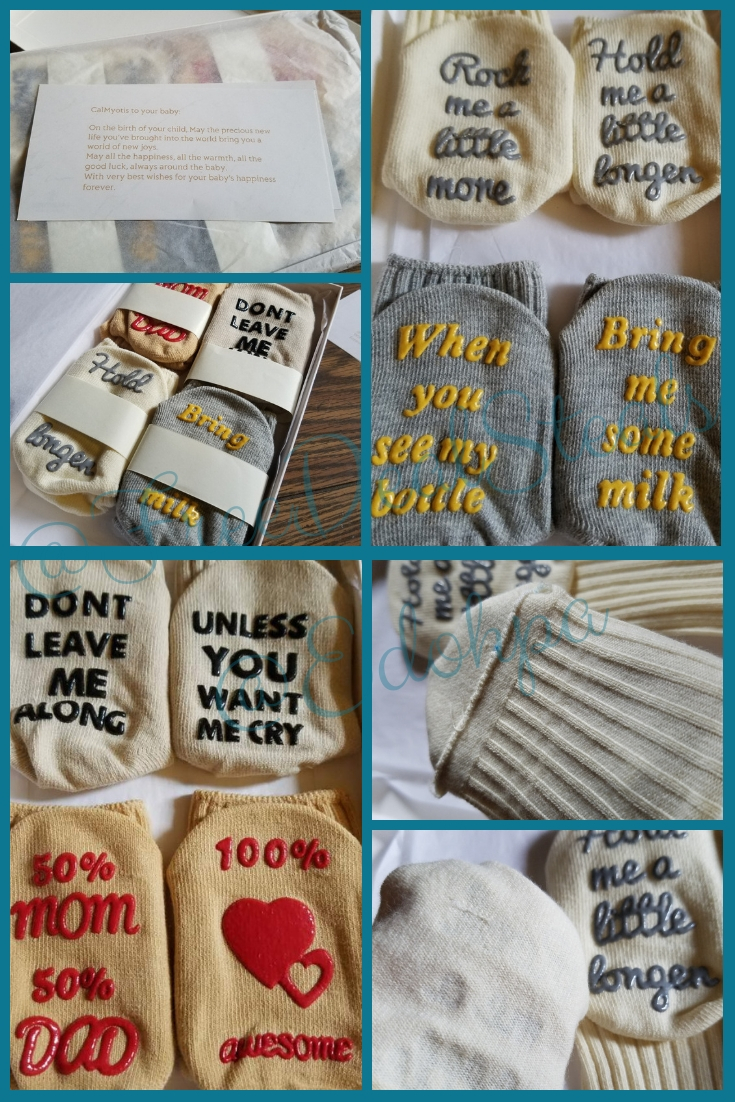 Adorable Baby Toddler Socks With Word Bottoms