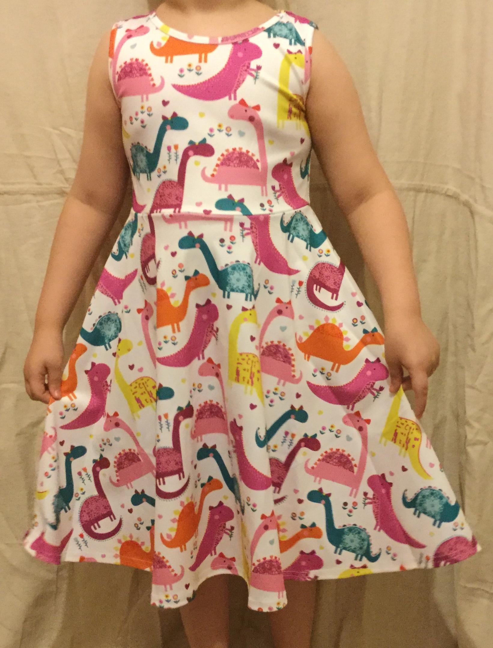 Leapparel Girls Sleeveless Dress