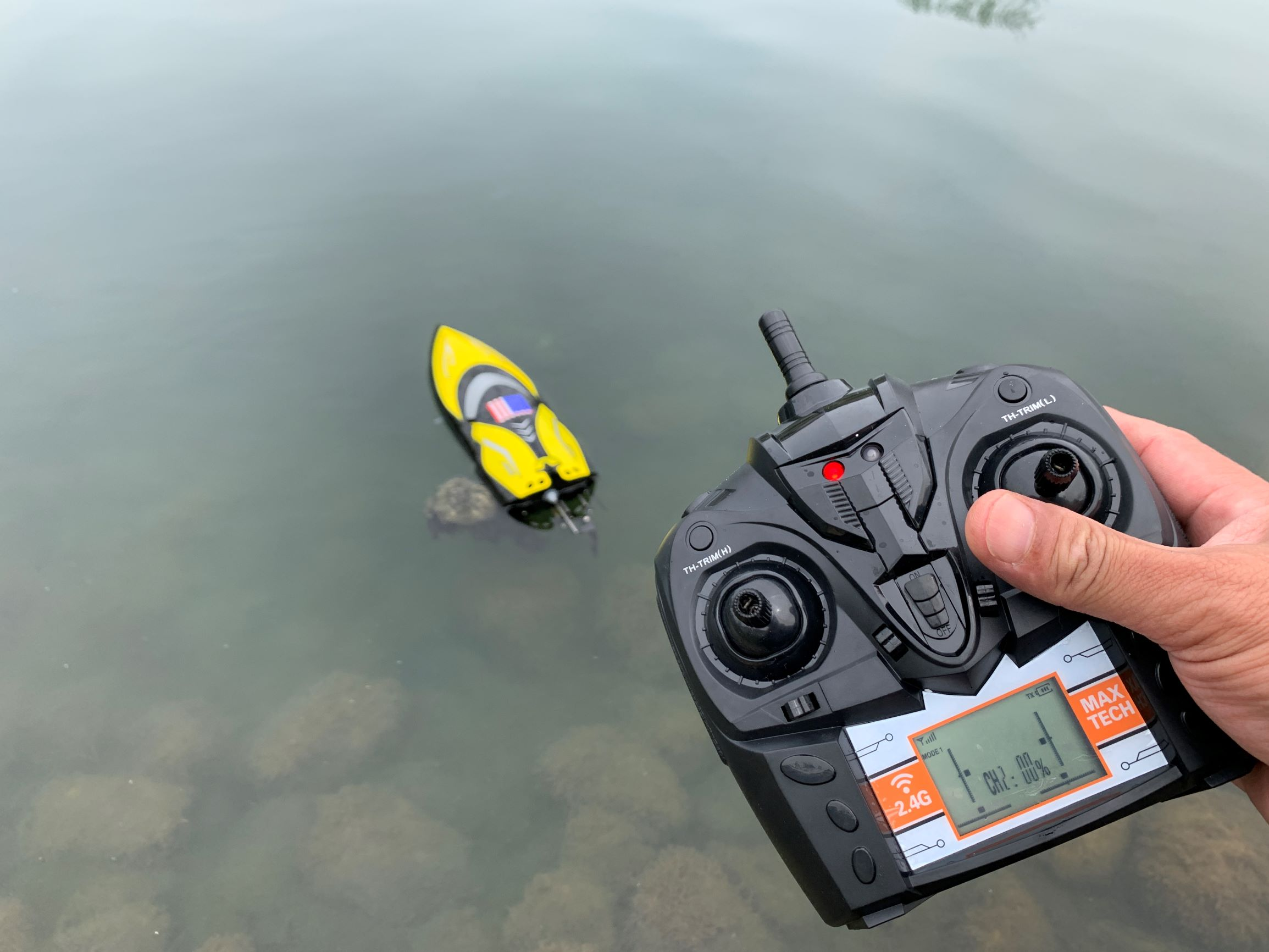 Powerful and fun RC Boat