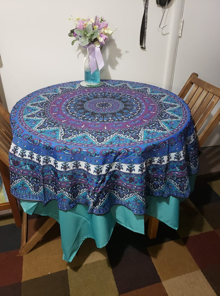 HANDMADE BOHO TAPESTRY TABLECLOTH