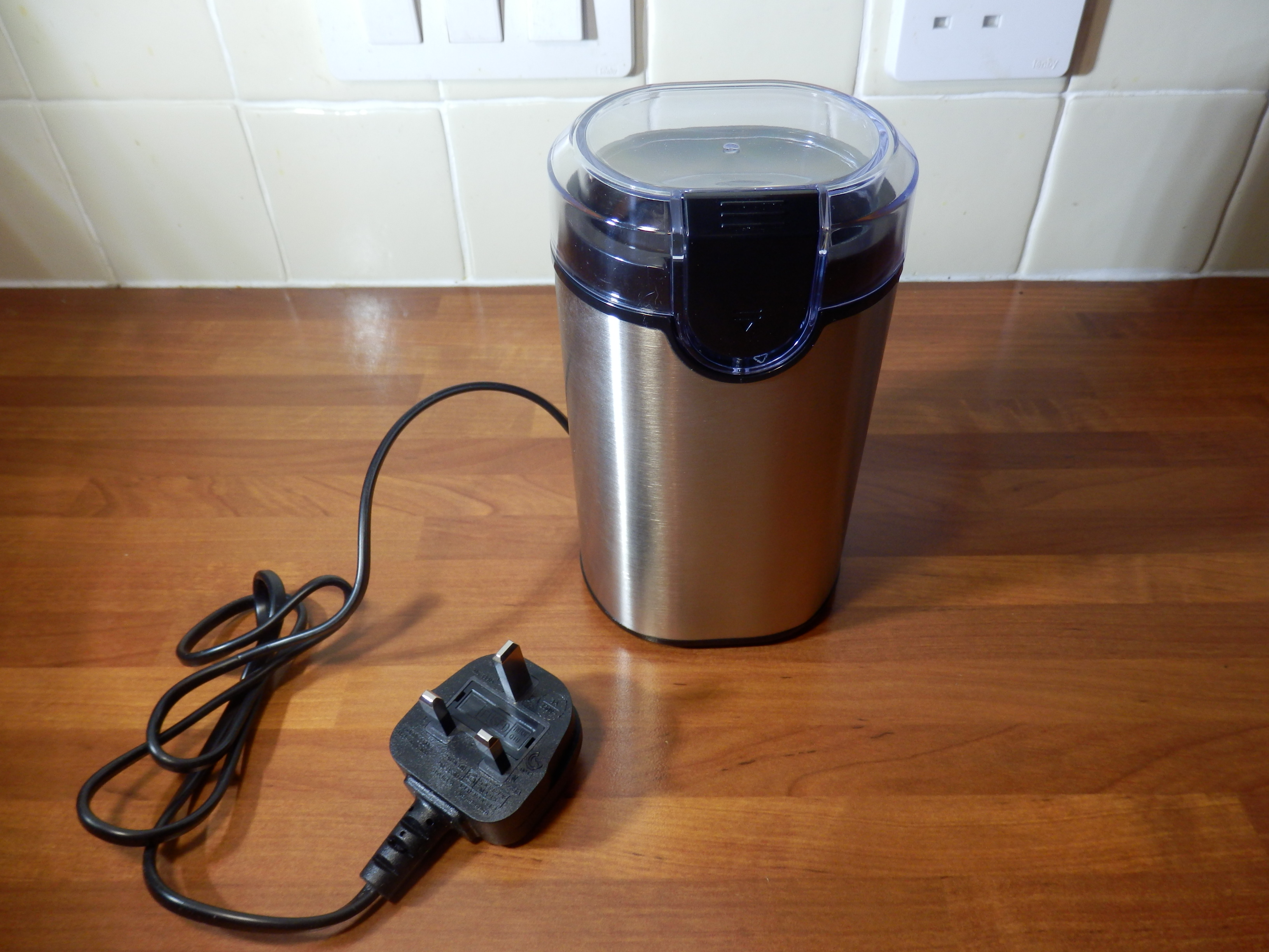 Morpilot Electric Coffee Grinder, 150W, Stainless Steel Blades Including a Cleaning Brush