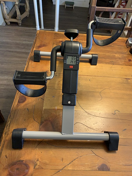 Leg and Arm Exerciser for only $30, what a deal!!