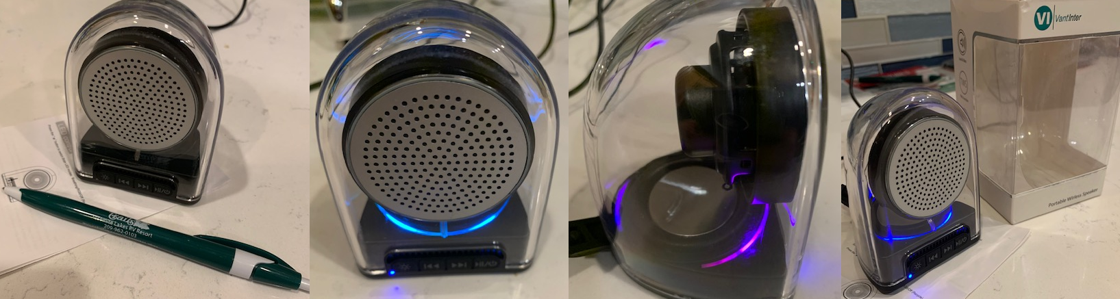 It's small in size, but really pumps out the music!