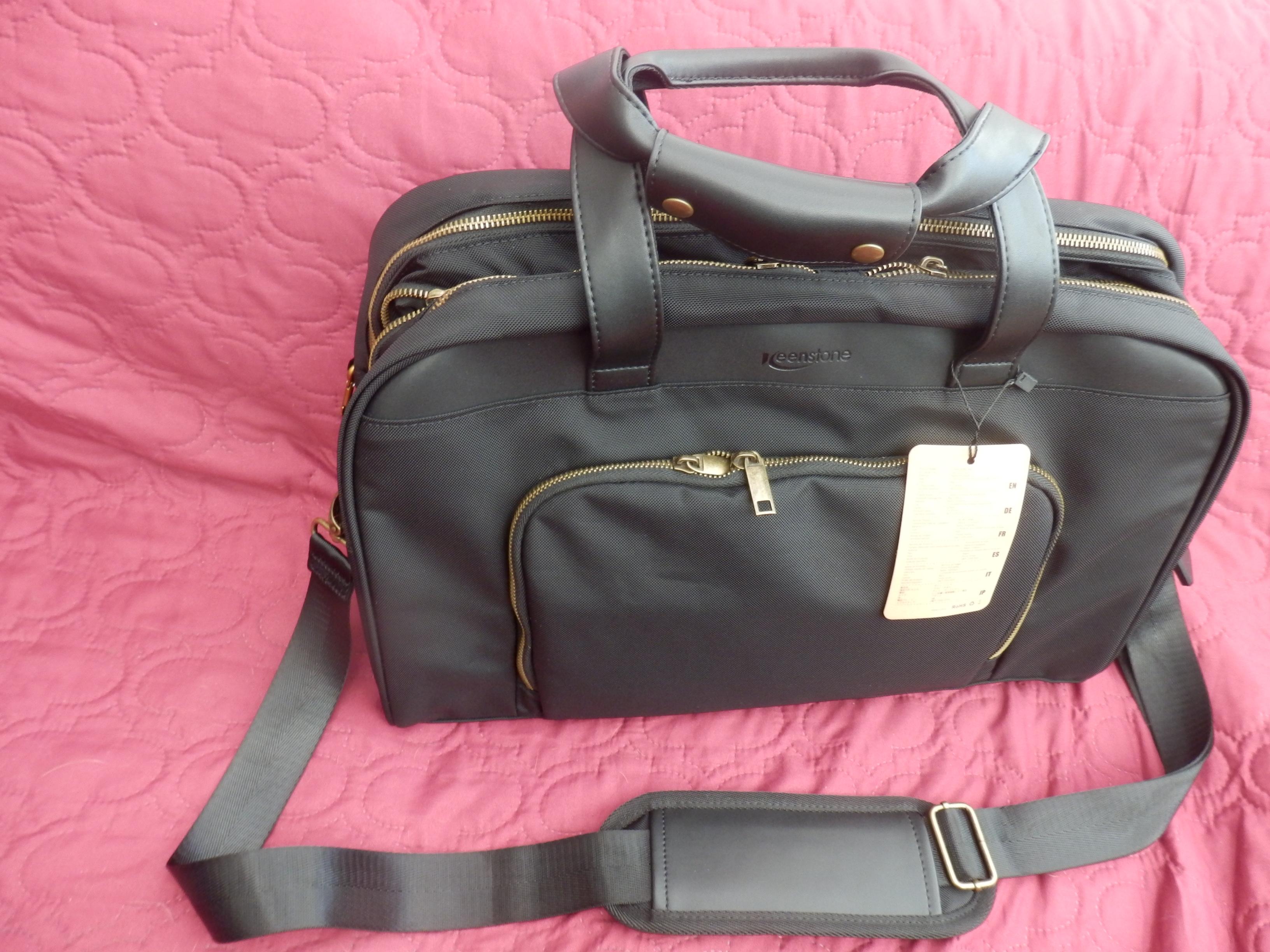 Keenstone Waterproof Laptop Travel Bag with USB ports