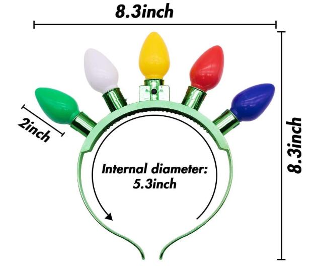 Light Bulb Headband