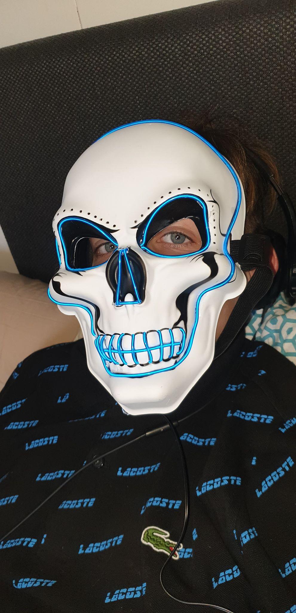 masque  lumineux