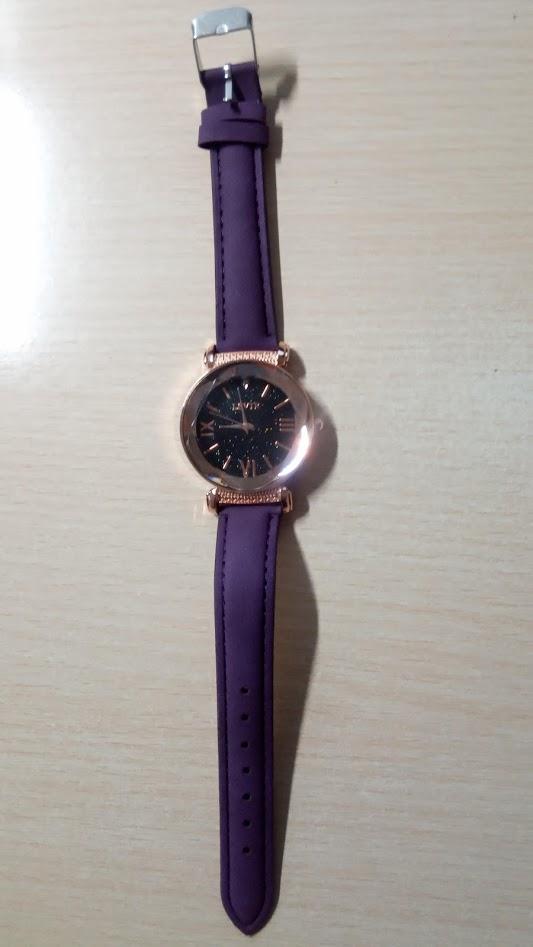 Me enviaron otro modelo de reloj mucho más feo