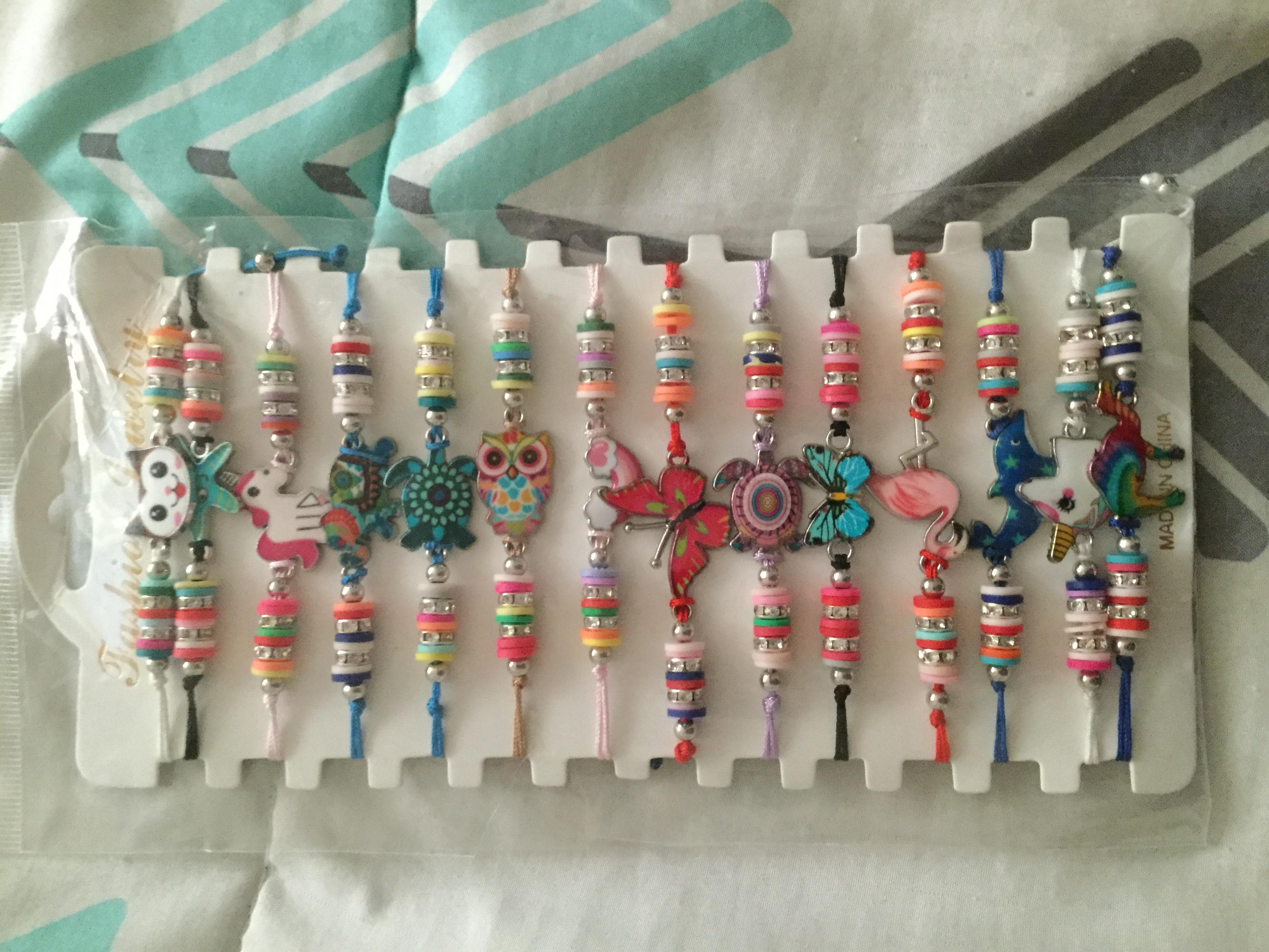 Such cute bracelets