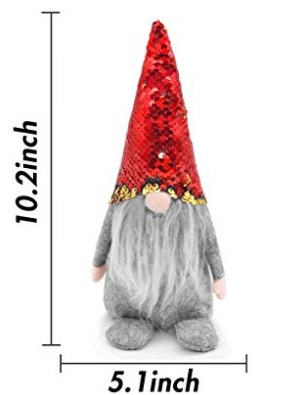 Santa Gnome Plush