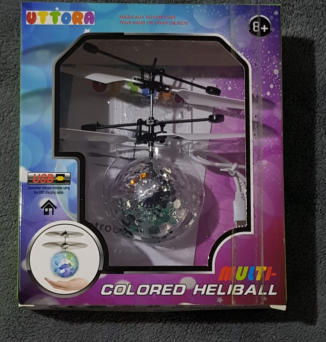 Flying led high flyer ball