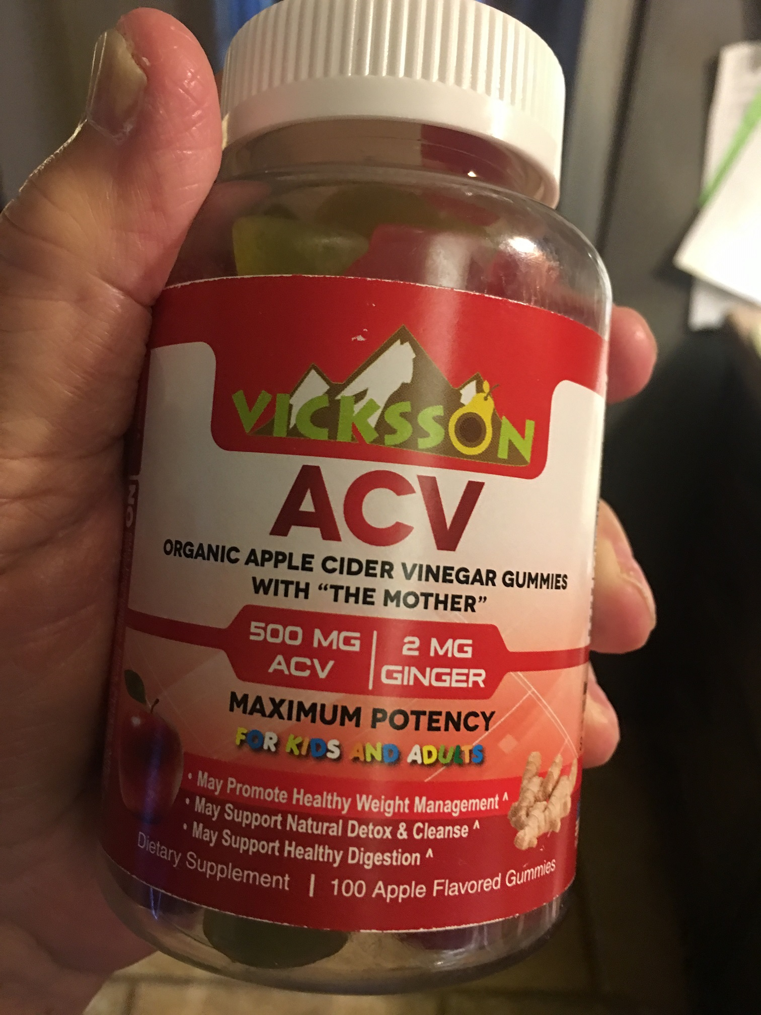 Much more palatable ACV