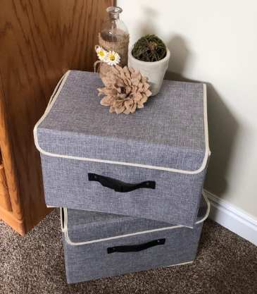 Collapsible Box Containers