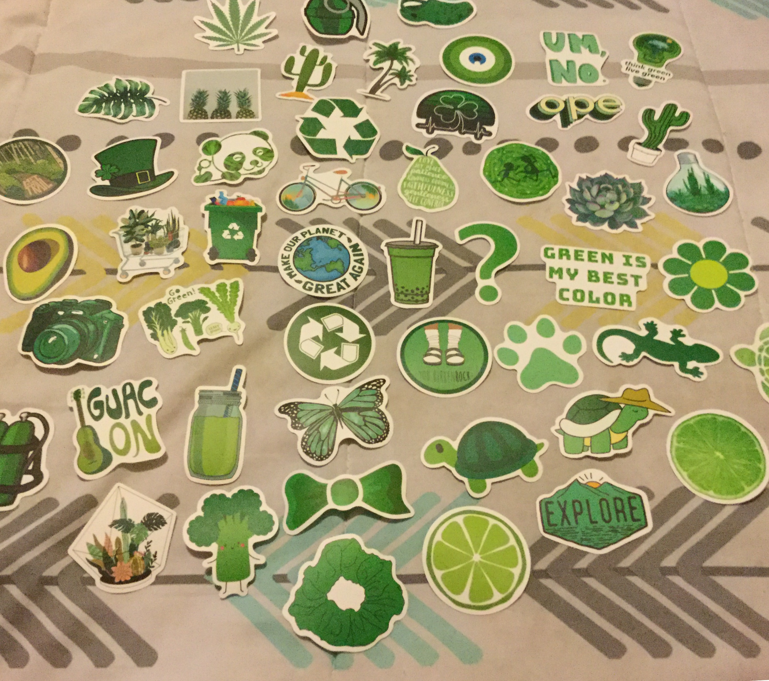 Lots of fun stickers