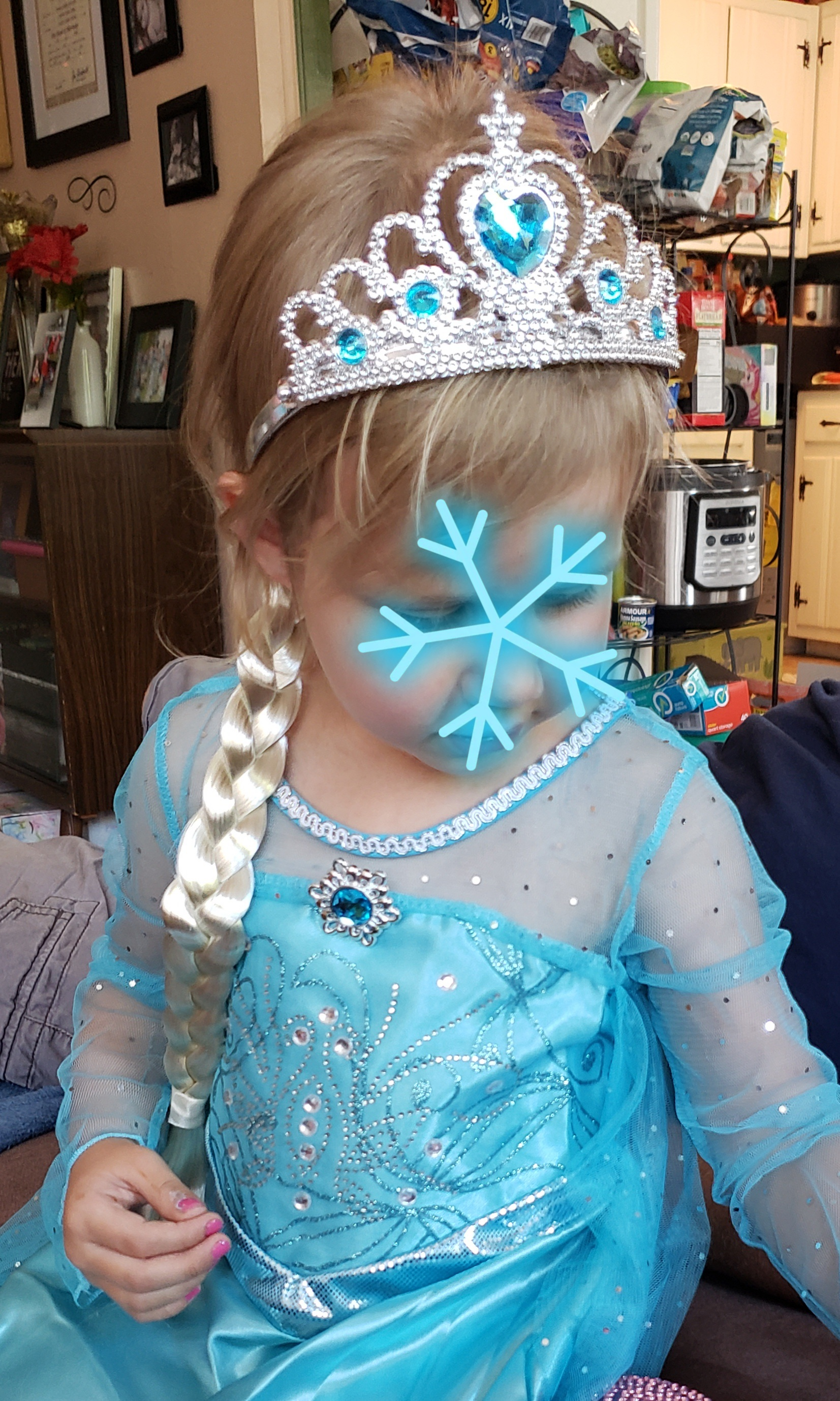 ELSA PRINCESS DRESS UP SET