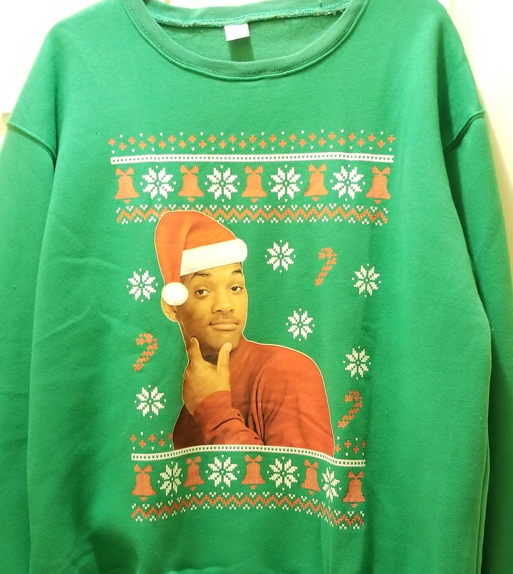 Will Smith Ugly Christmas Sweatshirt