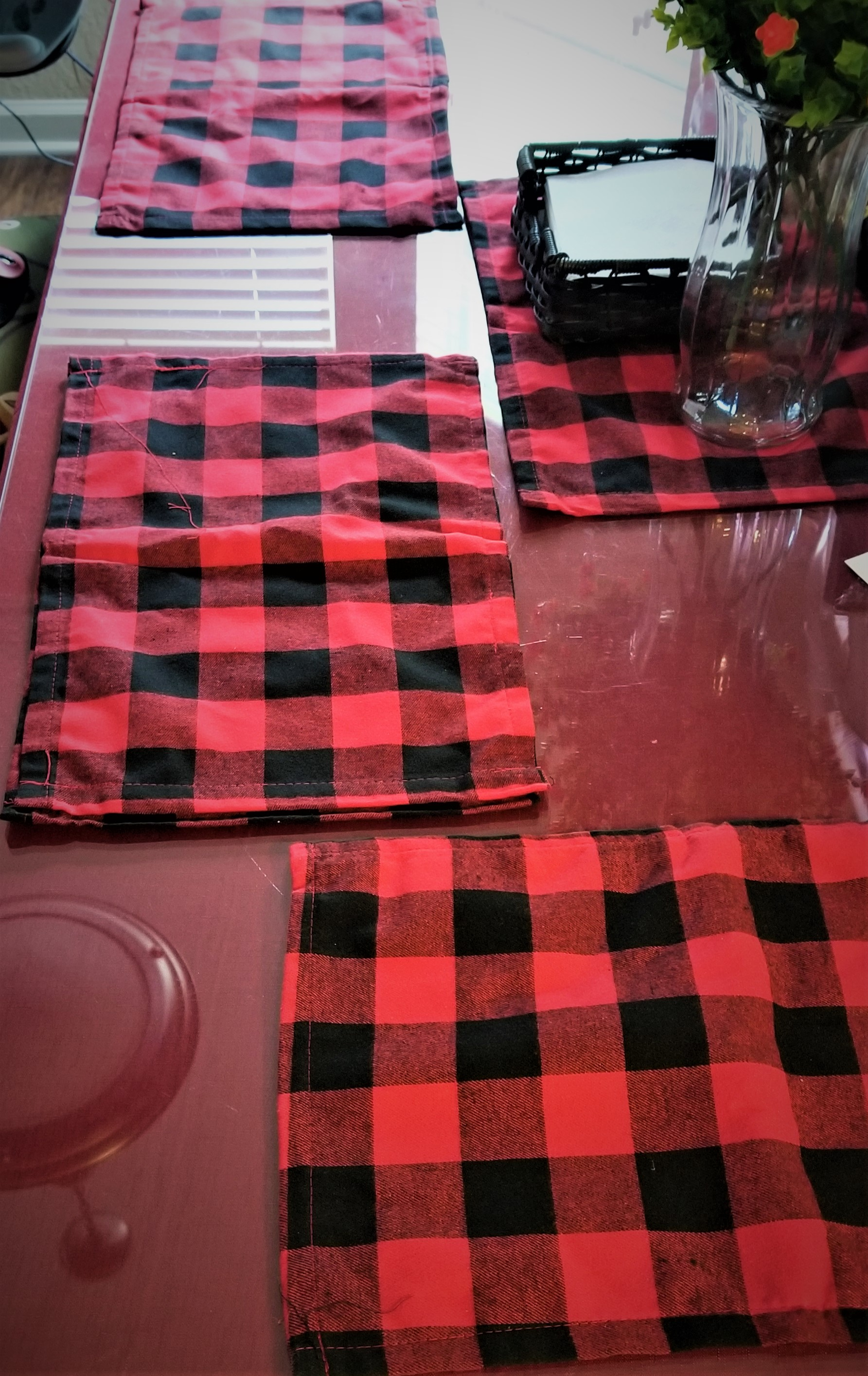 Cozy Holiday Placemats