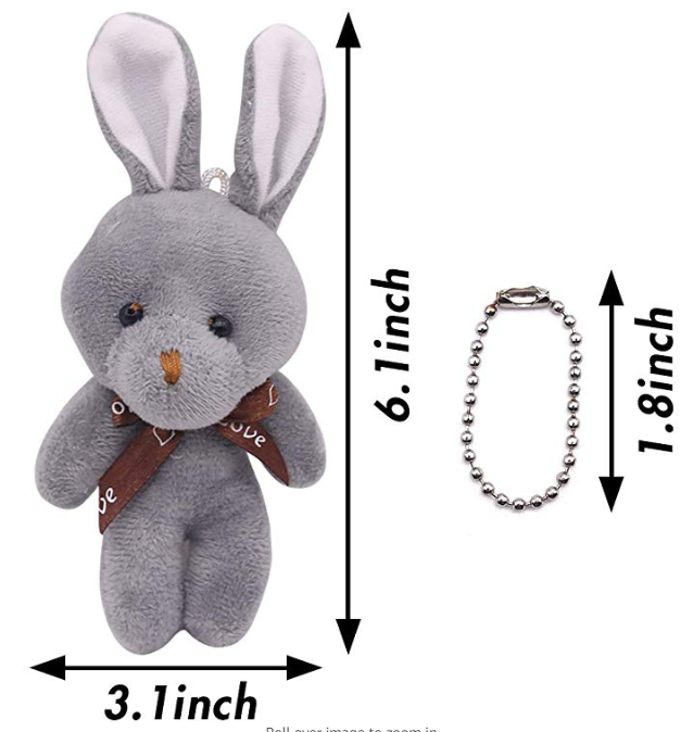 6Pcs Mini Rabbit