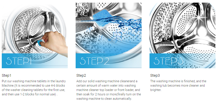 Clean your front-loading clothes washer easily