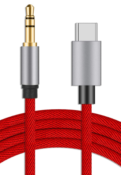 USB C to 3.5mm Aux Cable Cord
