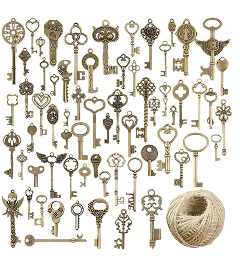 Dozens of skeleton keys for dozens of uses!